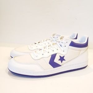CONVERSE Fastbreak 83 MID White/Purple Basketball